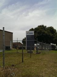 CGG Site Sign