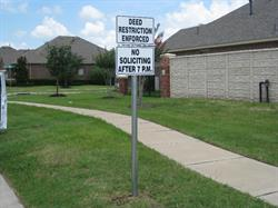 Planned Community Management Sign