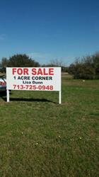 For Sale Post And Panel Sign