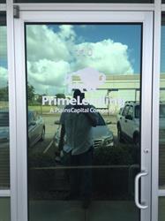 Prime Lending Vinyl Door and Window Graphics