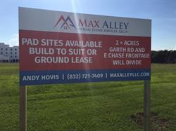 Max Alley Site Sign