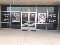 DSW Door Vinyl And Paper Posters