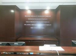 Houston Specialty Insurance Company Dimensional Wall Letters