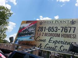 Westpoint  Apartments Billboard Banner