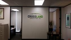 Crossland Acquisitions, Inc. Dimensional Wall Letters