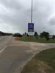 Harris County Toll Road Authority Road Sign