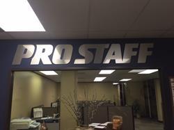 Pro Staff Brushed Aluminum all Logo