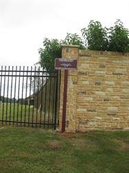 Woodcreek Reserve Post Sign