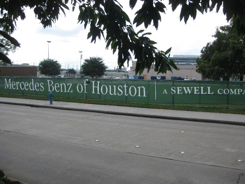 Sewell Constrution Site Mesh Banner
