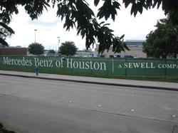 Sewell Construction Site Mesh Banner