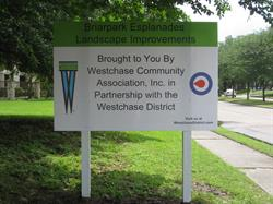 Westchase District Site Sign