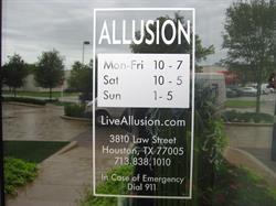 Allusion Door Graphics