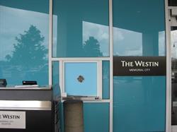 The Westin Window and Door Graphics