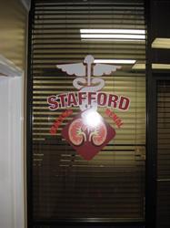 Stafford Dialysis Window Vinyl
