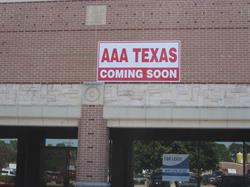 AAA Texas Coming Soon Banner