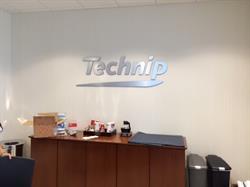 Technip dimensional logo