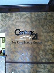 Century 21 Wall Letters