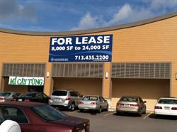 For Lease Building Banner