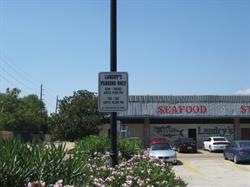 Landry's Parking Sign