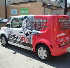 Vehicle Wrap- UBREAKIFIX