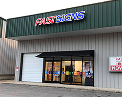 Store Front - FASTSIGNS of Cookeville