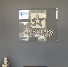 Stand-off Mounted Acrylic Sign