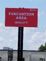 Evacuation Sign