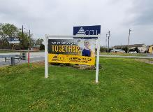Site Sign-sign for site