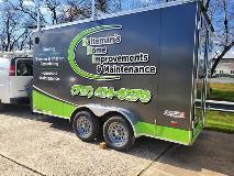 trailer wrap - vehicle graphics