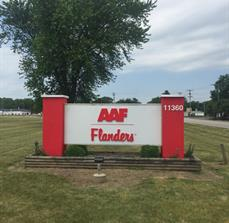 AAF Flanders Monument Sign