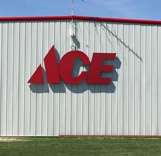 Ace Hardware Building Sign