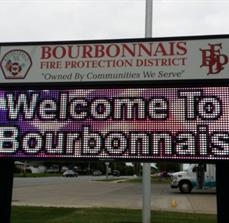 Bourbonnais Fire Department_Digital signs