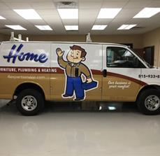 Home Applicance_Full vehicle wrap