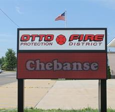 Otto Township Fire Department_Digital outdoor sign
