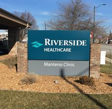Riverside Healthcare_monument sign