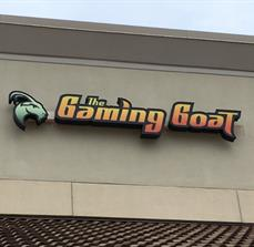 The Gaming Goat_lighted business sign