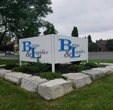 Barton & Loguidice New Location Sign