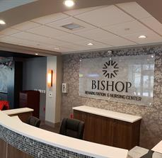 Bishop Care Lobby Sign