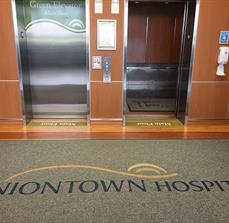 Uniontown Hospital Custom Floor Mats