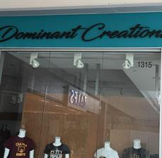 Dominant Creations Wall Lettering
