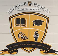 Eleanor McMain Charter School Wall Graphics