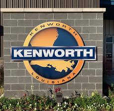 Kenworth Monument sign