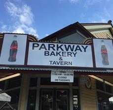 Parkway Bakery & Tavern Cabinet Sign