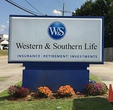 Western & Southern Life Illuminated Sign