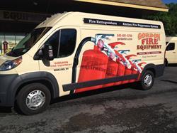 Gordon Fire Equipment Vehicle Wrap