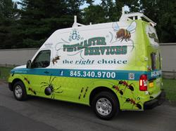 Pestmaster Vehicle Wrap