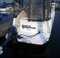 Personalized Boat Graphics