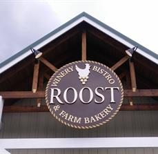 Roost Farm Bakery Outdoor Sign