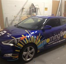 CHCH vehicle wrap