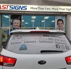 SJL Design- Car rear window Perf.